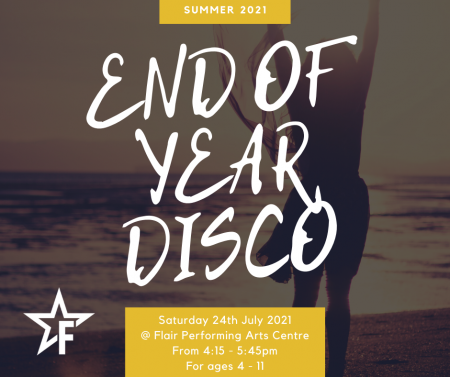 End of Year Disco 2021