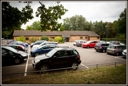 Madginford Hall Parking